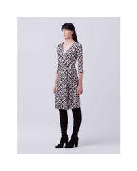 Diane von Furstenberg | Multicolor New Julian Two Silk Jersey Wrap Dress | Lyst
