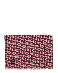Kate Spade | Purple Petit Four-falling Floral Oblong | Lyst