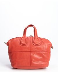 Givenchy - Red Lambskin Nightingale Small Convertible Tote - Lyst