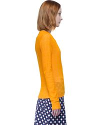 Carven - Orange T-shirt - Lyst