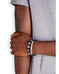 Nialaya - Blue Stingray Bracelet for Men - Lyst