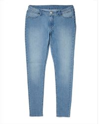 Cheap Monday - Low Spray Jeans In Super-Skinny Fit Light Blue for Men - Lyst