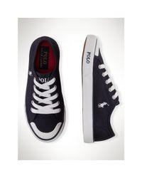 Ralph Lauren - Blue Carlisle Sneaker for Men - Lyst