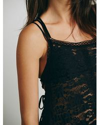 Free People | Black Tree Swing Tunic | Lyst