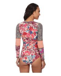 Maaji Multicolor Bittercress Surfer One-piece Without Soft Cups And Cheeky Cut
