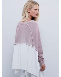 Free People - Purple Mystic Pullover - Lyst