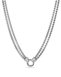 "David Yurman - Metallic 16"" - Lyst"