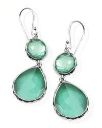 Ippolita Green Mini Mother-Of-Pearl Wonderland Teardrop Earrings