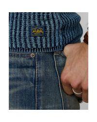 Denim & Supply Ralph Lauren - Blue Henley Shirt   for Men - Lyst