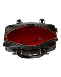 Dooney & Bourke - Black Samba Square Satchel - Lyst