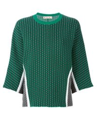 Marni Green Sweater