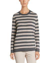 BOSS Gray Sweater In New Wool: 'feila'