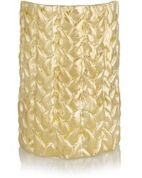 Jennifer Fisher | Metallic Xl Braid Gold-plated Cuff | Lyst