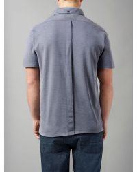 Victorinox - Blue Dranse Polo Shirt for Men - Lyst