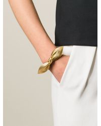 Saint Laurent | Metallic 'Tresor' Bracelet | Lyst