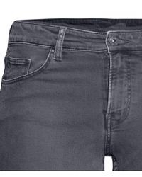 H&M - Gray + Skinny Jeans - Lyst