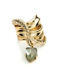 Alexis Bittar - Metallic Kinetic Gold Charmed Ribbon Ring You Might Also Like - Lyst