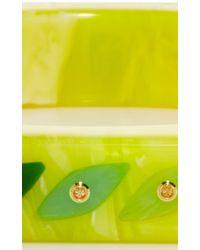 Mark Davis | Multicolor Spessartite Garnet Bakelite Skinny Bangle | Lyst