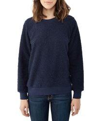 Alternative Apparel | Blue Entrada Boucle Crew Sweatshirt | Lyst