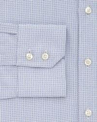 Thomas Pink - Blue Hesling Texture Dress Shirt - Regular Fit for Men - Lyst