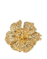 Alexander McQueen | Metallic Butterfly Gold Tone Cuff | Lyst