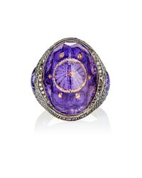 Sevan Biçakci - Purple Sophia Ring - Lyst
