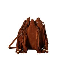 TOMS | Brown Celestial Soft Suede Mini Crossbody | Lyst