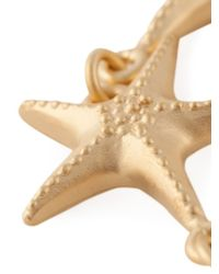 Valentino - Metallic Sea Star Bracelet - Lyst
