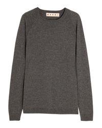 Marni Gray Cashmere Sweater