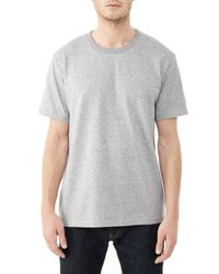 Alternative Apparel | Metallic Nostalgia Heavyweight Mock Twist T-shirt for Men | Lyst