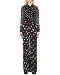 Diane von Furstenberg | Multicolor Arabella Silk Jumpsuit | Lyst