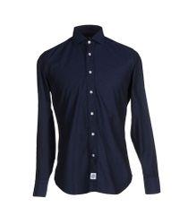 Hydrogen | Blue Shirt for Men | Lyst