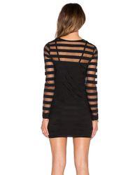 RVCA Black On The Rox Dress
