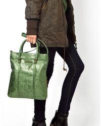 Matt & Nat - Green Stardust Grass Tote Bag - Lyst