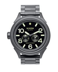 Nixon | Black 'the October Tide' Multifunction Bracelet Watch for Men | Lyst