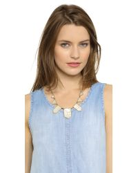 House of Harlow 1960 | Metallic Five Station Necklace | Lyst
