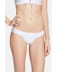 Robin Piccone | White Women'S 'Yolanda' Hipster Bikini Bottoms | Lyst