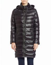 Calvin Klein Black Packable Puffer Coat