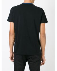 DIESEL - Black 'tgalas' T-shirt for Men - Lyst