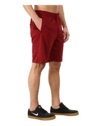 Nike | Red Sb Dri-fit Sunday Short for Men | Lyst