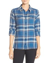 Patagonia | Blue 'fjord' Flannel Shirt | Lyst