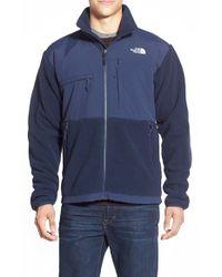 The North Face Blue 'denali' Recycled Polartec 300 Fleece Jacket for men