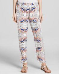Ella Moss Blue Pants - Valerie