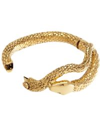 Aurelie Bidermann | Metallic Gold Tao Snake Bracelet | Lyst