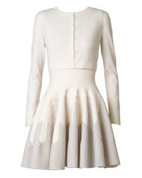 Alaïa - White Classic Cropped Cardigan Classic Cropped Cardigan - Lyst