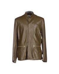 Armani - Green Jacket for Men - Lyst