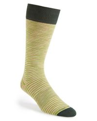 Hook + Albert | Black Stripe Socks for Men | Lyst