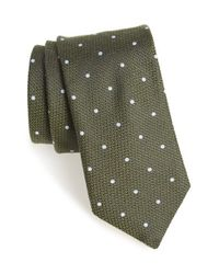 Todd Snyder | Green Cotton, Silk & Cashmere Tie for Men | Lyst