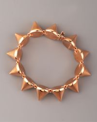 Eddie Borgo Metallic Large Cone Bracelet