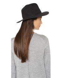Rag & Bone - Black Dakota Hat - Lyst